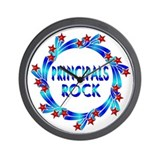 Principals Rock Wall Clock