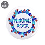 "Principals Rock 3.5"" Button (10 pack)"
