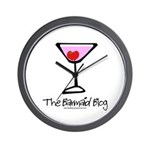 Barmaid Blog Wall Clock