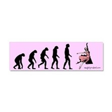 Car Magnet Evolution of Dance