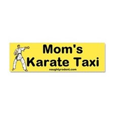 Car Magnet Karate Taxi