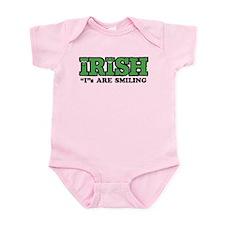 "Irish ""I""s Are Smiling Infant Bodysuit"
