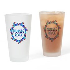 Nurses Rock Drinking Glass