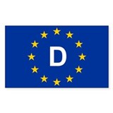 EU Germany Decal