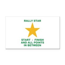 Cute Rally obedience Rectangle Car Magnet