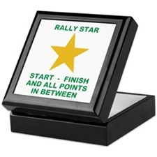 Cute Rally obedience Keepsake Box