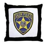 Salem Police Throw Pillow