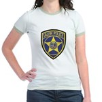Salem Police Jr. Ringer T-Shirt