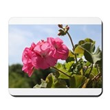 Pink Geranium in Virginia Sunshine Mousepad