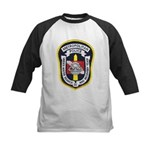 DC Metro Police Dive Team Kids Baseball Jersey