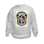 DC Metro Police Dive Team Kids Sweatshirt