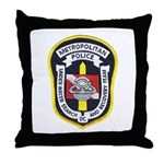 DC Metro Police Dive Team Throw Pillow