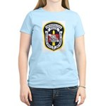DC Metro Police Dive Team Women's Pink T-Shirt