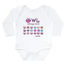 Owl always love... Body Suit