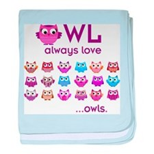 Owl always love... baby blanket