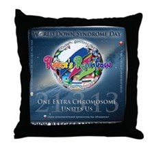 wdsd hires Throw Pillow