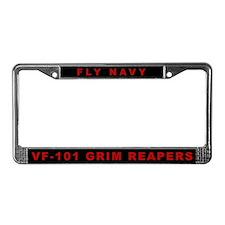 VF-101 License Plate Frame