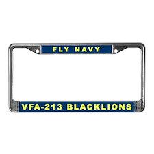 VFA-213 License Plate Frame