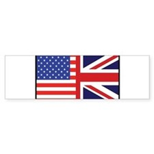 USA/Britain Bumper Bumper Sticker