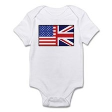 USA/Britain Infant Bodysuit