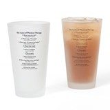 Law student Drinking Glass