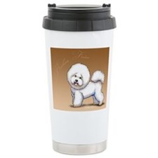 bichon words Travel Mug