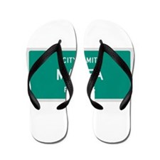 Marfa, Texas City Limits Flip Flops