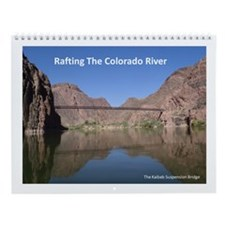 Colorado River rafting Wall Calendar