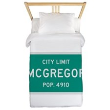 McGregor, Texas City Limits Twin Duvet