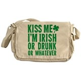 Kiss Me Im Irish Or Drunk Or Whatever Messenger Ba