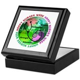 happy nurses week 2013 2 Keepsake Box