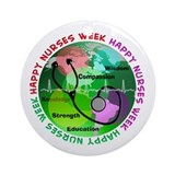 happy nurses week 2013 2 Ornament (Round)