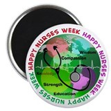 "happy nurses week 2013 2 2.25"" Magnet (100 pack)"