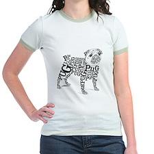 Pug Typography T-Shirt