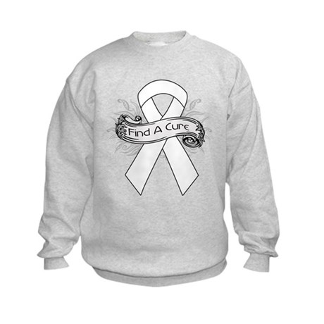Lung Cancer Find A Cure Kids Sweatshirt
