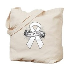Lung Cancer Find A Cure Tote Bag