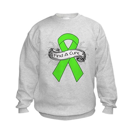 Lymphoma Find A Cure Kids Sweatshirt