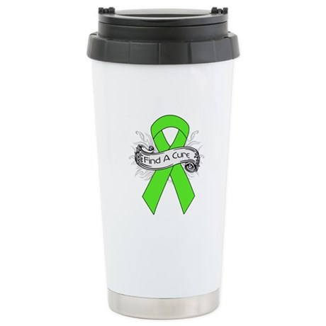 Lymphoma Find A Cure Ceramic Travel Mug