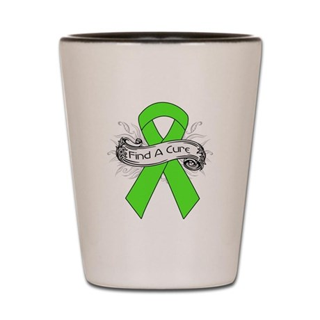 Lymphoma Find A Cure Shot Glass