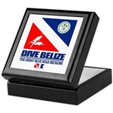 Dive Belize Keepsake Box