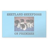 Cute Sheepdog Decal