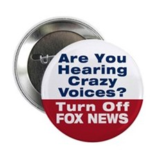"Turn Off Fox News 2.25"" Button (10 pack)"
