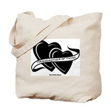 Grandmother Of Twins Tote Bag