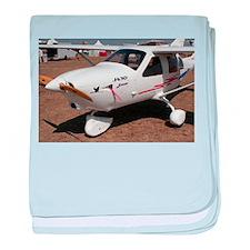 Jabiru Ultralight Aircraft baby blanket
