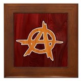 Anarchist Inlay Framed Tile