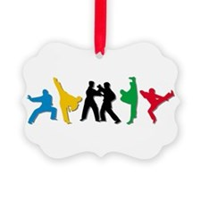 Tae Kwon Do Kicks Ornament