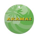 Akamai Ornament (Round)