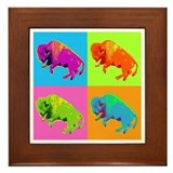 Warhol Buffalo Framed Tile