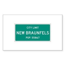 New Braunfels, Texas City Limits Decal