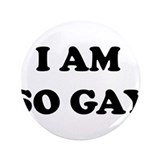 "Gay 3.5"" Button"